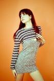 Sensual brunette.  Stock Images