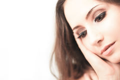 Sensual brunette Royalty Free Stock Images