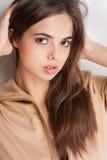 Sensual brunette. Royalty Free Stock Image