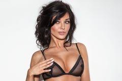 Sensual brunette woman posing Stock Photo
