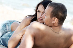 Sensual couple Royalty Free Stock Image