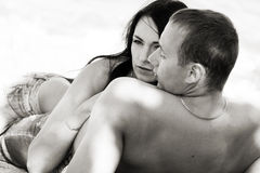 Sensual couple Royalty Free Stock Photos