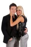 Sensual couple Stock Photos