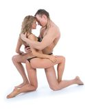 Sensual couple Stock Photos