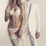 Sensual couple Stock Image