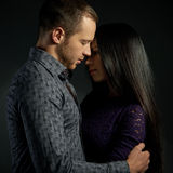 Sensual couple in love Royalty Free Stock Photography