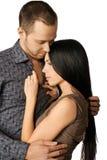 Sensual couple in love Stock Image