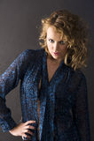 Sensual curly girl Stock Photos