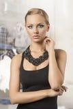 Sensual fashion blonde woman Stock Images