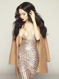 Sensual fashion lady Stock Photography