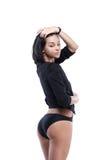 Sensual fashion woman Stock Photography