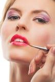 Sensual female makeup Stock Photo