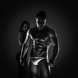 Sensual fitness Royalty Free Stock Photography