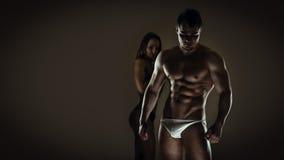 Sensual fitness Royalty Free Stock Photo