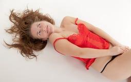 The sensual girl Royalty Free Stock Photos