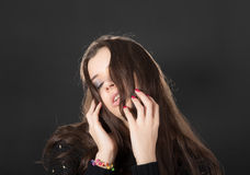 Sensual girl Stock Photography