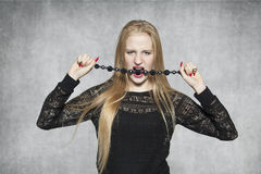 Sensual girl Royalty Free Stock Photography