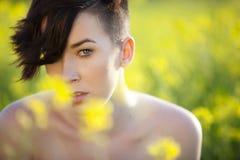 Sensual girl portrait Royalty Free Stock Photography