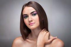 Sensual girl portrait Stock Photos
