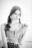 Sensual girl portrait Stock Images