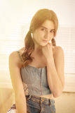 Sensual girl portrait Stock Photo