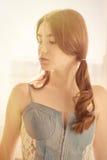 Sensual girl portrait Stock Image
