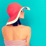 Sensual girl summer Stock Photo