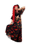 Sensual gypsy woman Royalty Free Stock Images