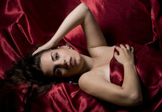 Sensual image of a woman Stock Images