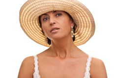 Sensual italian lady Royalty Free Stock Photo