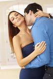 Sensual kiss Stock Photo