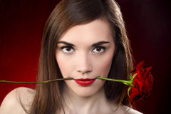 Sensual lady Royalty Free Stock Images