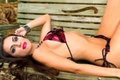 Sensual latin girl Stock Photo