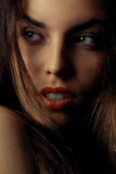 Sensual lips Stock Photos