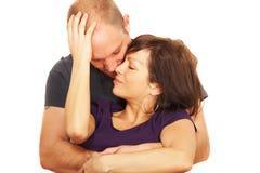 Sensual lovers Royalty Free Stock Photo