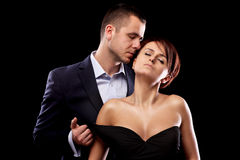 Sensual lovers Royalty Free Stock Photography