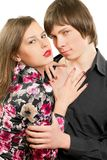 Sensual loving young couple Royalty Free Stock Images