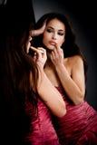 Sensual make up Royalty Free Stock Photos