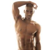 Sensual male model Stock Photography
