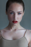 Sensual model close up portrait Royalty Free Stock Images