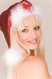 Sensual Mrs. Santa Royalty Free Stock Image