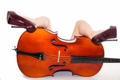 Sensual musical prelude Stock Image