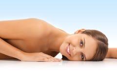 Sensual nude woman Stock Photos