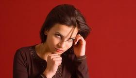 Sensual portrait Stock Photos