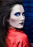 Sensual portrait gothic female Royalty Free Stock Photo