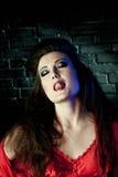 Sensual portrait gothic female Stock Photos