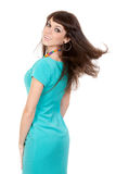 Sensual pretty woman with long hairs Stock Photo