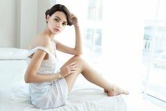 Sensual pretty woman Royalty Free Stock Image