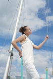 Sensual sailor Stock Images