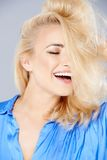 Sensual seductive blond woman Royalty Free Stock Photography
